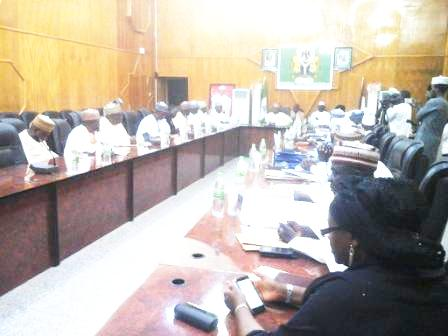 NNDC's delegation in a meeting session with Kebbi State Government Officials