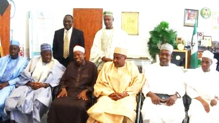 NNDC's Management in a group photograph with Officials of Kano State Government (The Governor, middle)