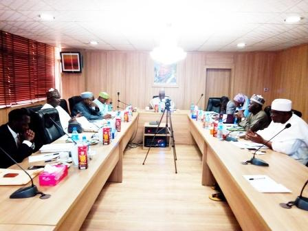 Maiden Board meeting of NNCMC. 20th and 21st April, 2017 inside NNDC Boardroom