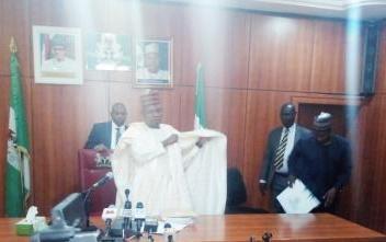 The Executive Governor of Borno State. His Excellency, Alhaji Kashim Shettima