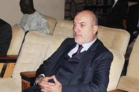 The CEO of SUR Investment of Turkey, Mr Octay Ercan