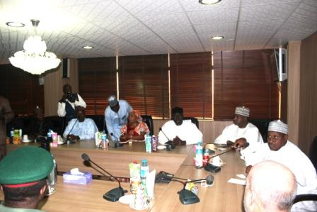 Meeting with the SUR Inv. of Turkey inside the NNDC Board room at the NNDC Corporate Headquarters in Kaduna